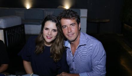 Jessica Martín Alba y Javier Meade.
