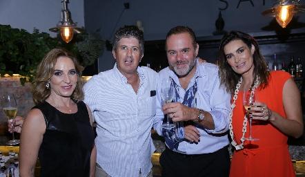 Claudia Díaz Infante, José Antonio Hernández, Gunnar Mebius y Lorena Hernández.