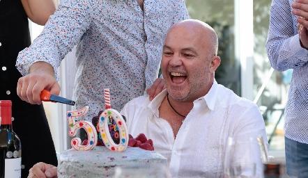 Cumpleaños #50 de Memo Pizzuto.