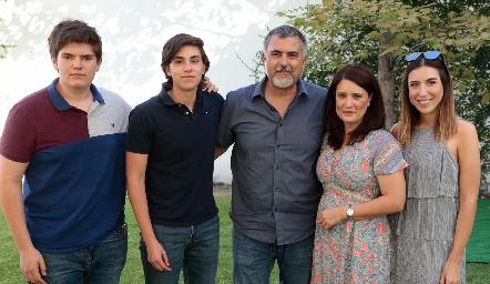Familia Páramo Millán.