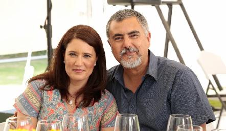 Mariana Millán y Picho Páramo.