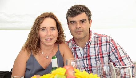 Rocío Valle y Alfonso Ortiz.