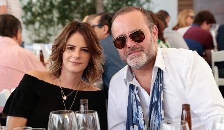 Verónica Malo y Gunnar Mebius.