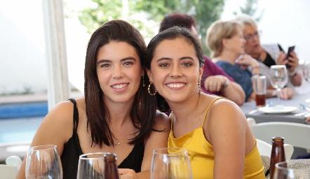 Cristy Pizzuto y Montse García.