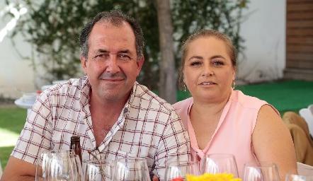 Boro Quijano y Montserrat Gutiérrez.