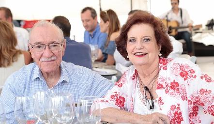 Manuel Martins y Coco Pizzuto.