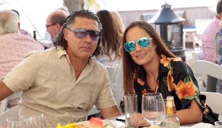 Guillermo Arochi y Zayi Risso.