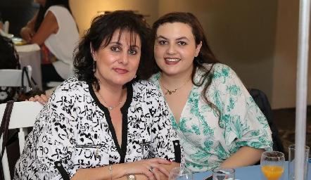 Elena Cara y Tere Musa.