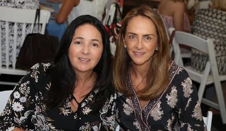 Claudia Álvarez y Laura Del Villar.