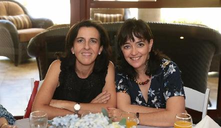 Montse Gómez y Marusa Maza.