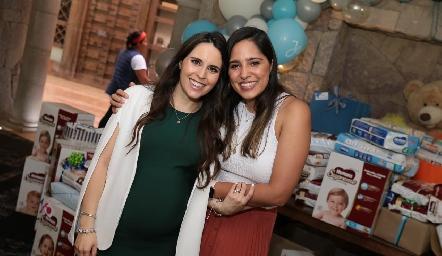 Luciana Rodríguez y Andrea Ascanio.