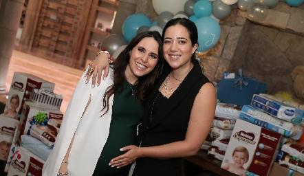 Luciana Rodríguez y Ale Maza.