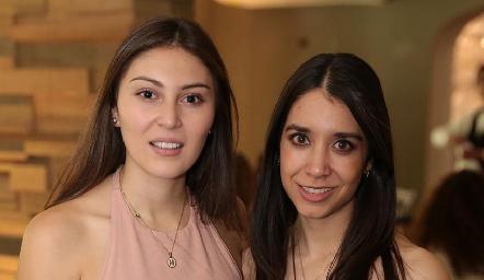 Lili Medina y Mariana González.