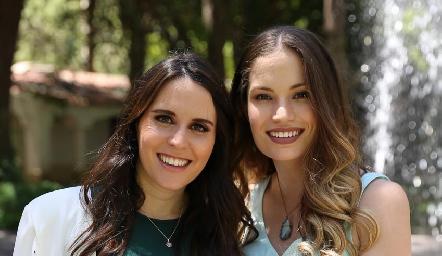Luciana Rodríguez y Bárbara Portales.