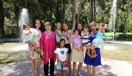 Familia Torrescano Anaya.