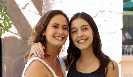 Sofía y Julieta Contreras.