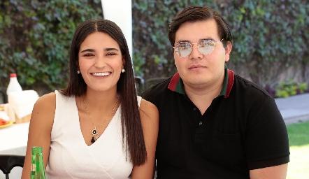 Daniela Mares y Rolando Ávila.