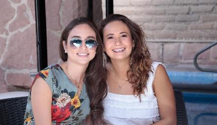 Mariana Meade y Sofía Loredo.