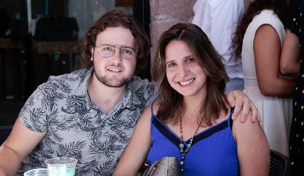 Marcelo Leyva y Mariana García.