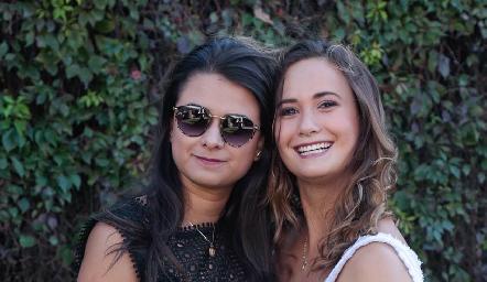 Sofía Saucedo y Sofía Loredo.