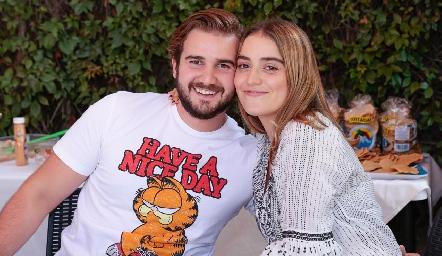 Felipe Martín Alba y Bárbara de la Garza.