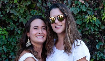 Sofía y Jessica Martín Alba.