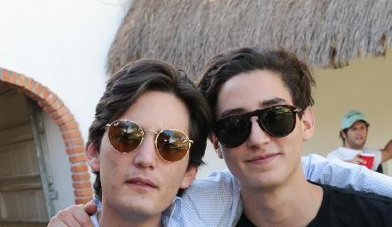 Sebastián Martínez y Santiago Rodríguez.