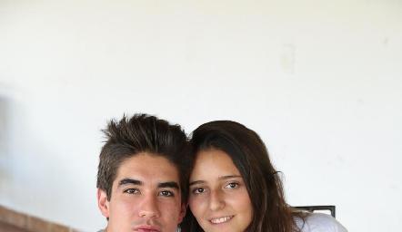 Chema Rodríguez y Cristy Nava.