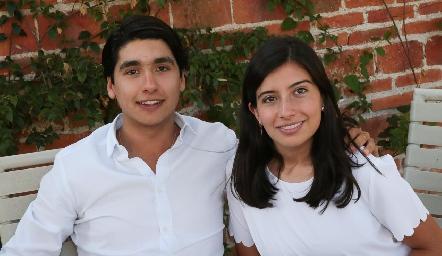 Miguel Tobías y Ana Paula García.
