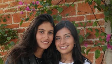 Natalia Gárate y Ana Pau García.