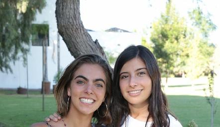 María Ovalle y Ana Pau García.
