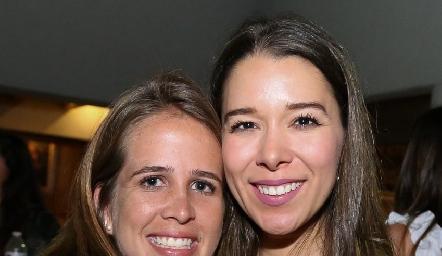 Montse Anaya y Michelle Cano.