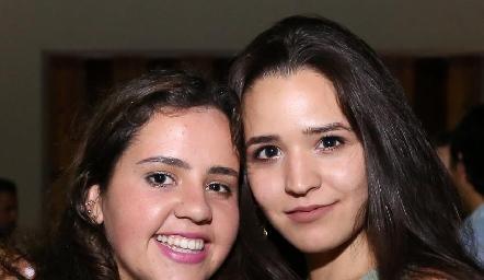 Any Gómez y Paola Cano.
