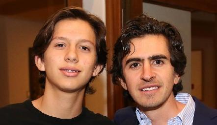 Eduardo Gaviño y Memo Gómez.