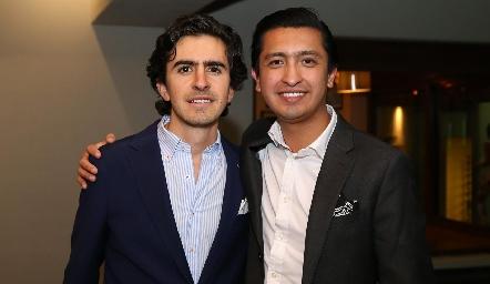 Memo Gómez y Rafael Villanueva.