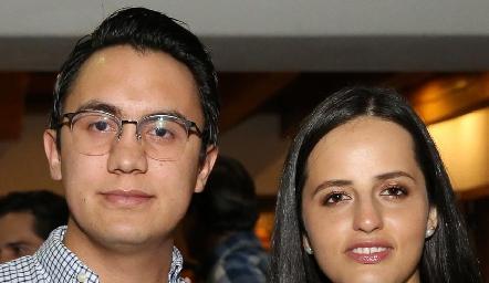 Jorge Gómez y Renata Lasso.