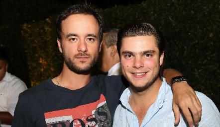 Daniel Villareal y Santiago Rosillo.
