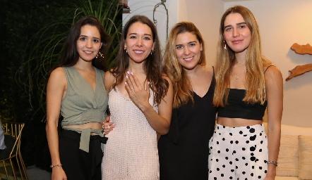 Paola Cano, Michelle Cano, Jocelyn Cano y Anasty Cano.