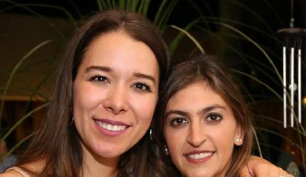 Michelle Cano y Paty Gómez.