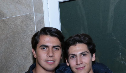 Juma Suárez y Jorge Loredo.