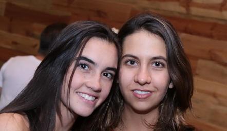Mariana Cueto y Vero Gómez.