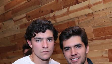 José Madrigal y Juan Pablo Quintero.