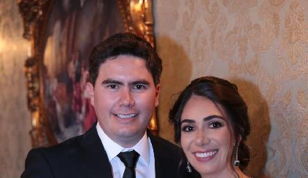 Héctor Gordoa y Andrea Lorca ya son esposos.