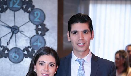 Cristina Lorca y Rafael Tobías.