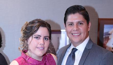 Priscila Gordoa y José Luis.