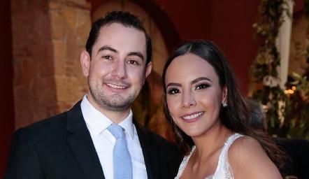 Mauricio Hermosillo y Gisselle Martínez ya son esposos.