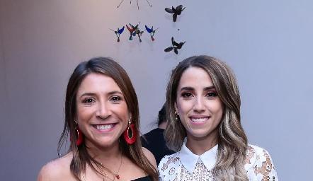 Montse Elizondo y Ana Gaby Ibarra.