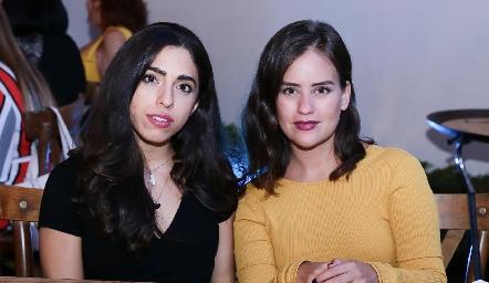 Ana Karen Ibarra y Laura Benítez.