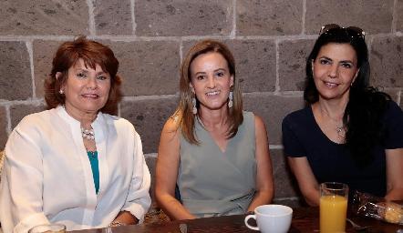 Maru Celis, Romina Madrazo y MelyMahbub.