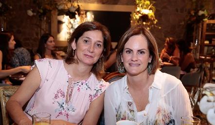 Mónica Leal y Rocío Gómez.
